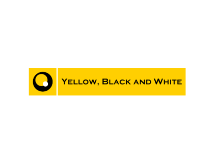 Yellow, Black and White